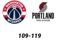Baloncesto.NBA. Washington Wizards vs Portland Trail Blazers