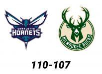 Baloncesto.NBA.Charlotte Hornets vs Milwaukee Bucks