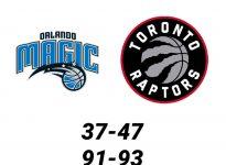 Baloncesto.NBA.Orlando Magic vs Toronto Raptors