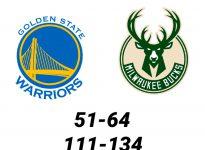 Baloncesto.NBA.Golden State Warriors vs Milwaukee Bucks