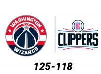 Baloncesto.NBA.Washington Wizards vs Los Angeles Clippers