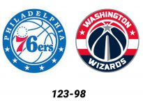 Baloncesto.NBA.Philadelphia 76ers vs Washington Wizards