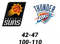 Baloncesto.NBA.Phoenix Suns vs Oklahoma City Thunder