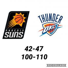 Baloncesto.NBA.Phoenix Suns vs Oklahoma City Thunder