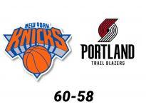 Baloncesto.NBA.New York Knicks vs Portland Trail Blazers