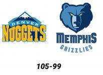Baloncesto.NBA. Denver Nuggets vs Memphis Grizzlies