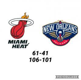 Baloncesto.NBA.Miami Heat vs New Orleans Pelicans
