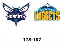 Baloncesto.NBA. Charlotte Hornets vs Denver Nuggets