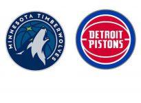 Baloncesto.NBA. Minnesota Timberwolves vs Detroit Pistons