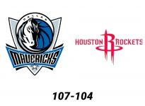 Baloncesto.NBA. Dallas Mavericks vs Houston Rockets