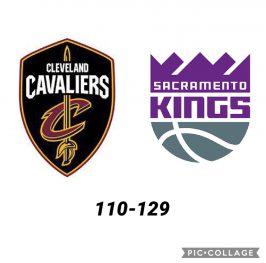 Baloncesto.NBA. Cleveland Cavaliers vs Sacramento Kings