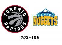 Baloncesto.NBA. Toronto Raptors vs Denver Nuggets