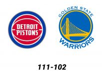Baloncesto.NBA.Detroit Pistons vs Golden State Warriors