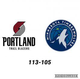 Baloncesto.NBA. Portland Trail Blazers vs Minnesota Timberwolves