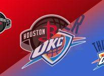 Apuesta baloncesto - NBA - HOUSTON vs OKLAHOMA