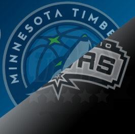 Apuesta baloncesto – NBA 20/21 – MINNESOTA vs SPURS