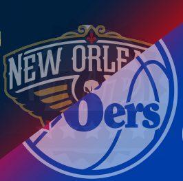 Apuesta baloncesto – NBA 21/22 – NEW ORLEANS PELICANS vs PHILADELPHIA 76ers